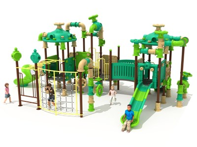 New Design Outdoor Play Slides Set KW-7039A