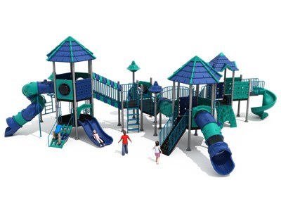 Colorful Town Outdoor Playgrounds KW-7083A