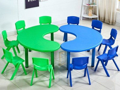 Kindergarten Plastic Table & Chair KW-5010A