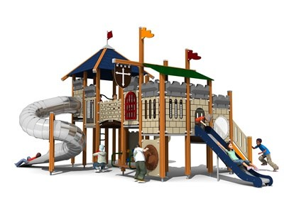 Castle Theme Outdoor Playground KW-7408A